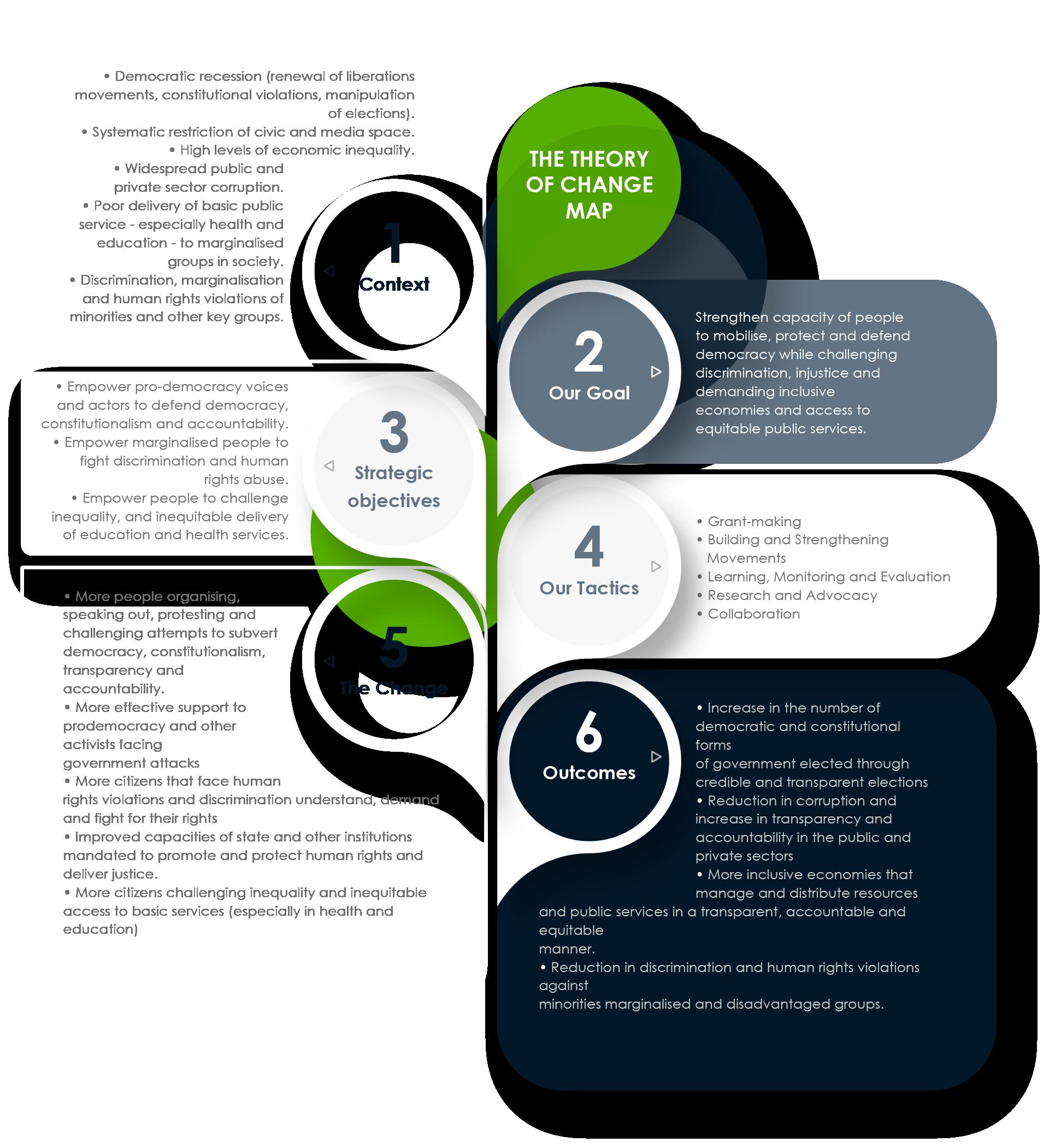 OSISA programmes infographic